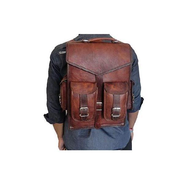 """12x16/""""  Vintage Handmade Leather Messenger Bag for Laptop Briefcase For Men"""