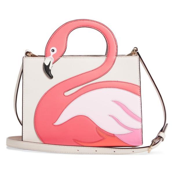 Kate Spade ケイトスペード バイ ザ プール フラミンゴ サム ハンドバッグ By The Pool Flamingo Sam □