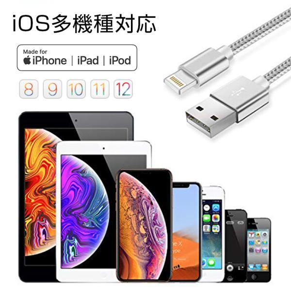 【最大15%OFF!クーポン対象】 iPhone 長さ 1.5m/1.0m/0.5m/0.25m 急速充電 データ転送 USBケーブル iPad XS Max XR X 8 7 6s PLUS 90日保証 合金製 importitem 14
