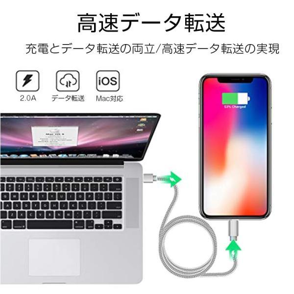 【最大15%OFF!クーポン対象】 iPhone 長さ 1.5m/1.0m/0.5m/0.25m 急速充電 データ転送 USBケーブル iPad XS Max XR X 8 7 6s PLUS 90日保証 合金製 importitem 15