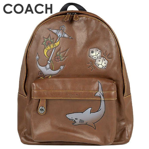 コーチ COACH メンズ バックパック 23812 QB/SD(サドル)