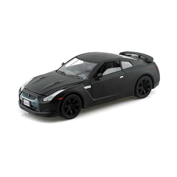 Nissan (日産) GTR 1/24 Matt Black MM73384-MTBK ミニカー ダイキャスト 自動車|importshop