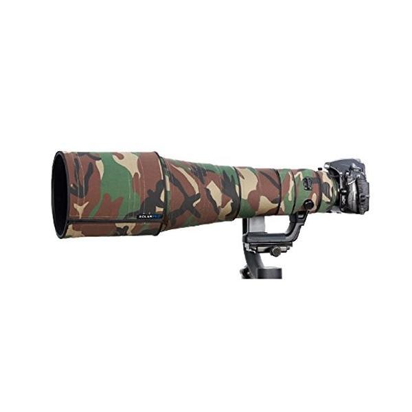 Gearap カノンレンズ保護カバー Canon EF 100-400mm f4.5-5.6 L IS II USM用 迷彩レンズ コート(色の番号
