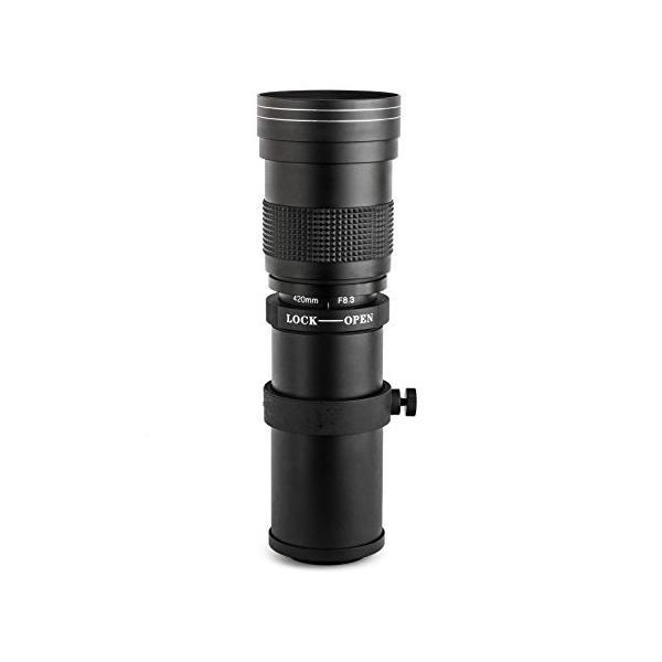 アプテカ (Opteka) 420?800ミリメートルF /8.3 HDの望遠ズームレンズ for ニコン Nikon D4s, D4, D3x,