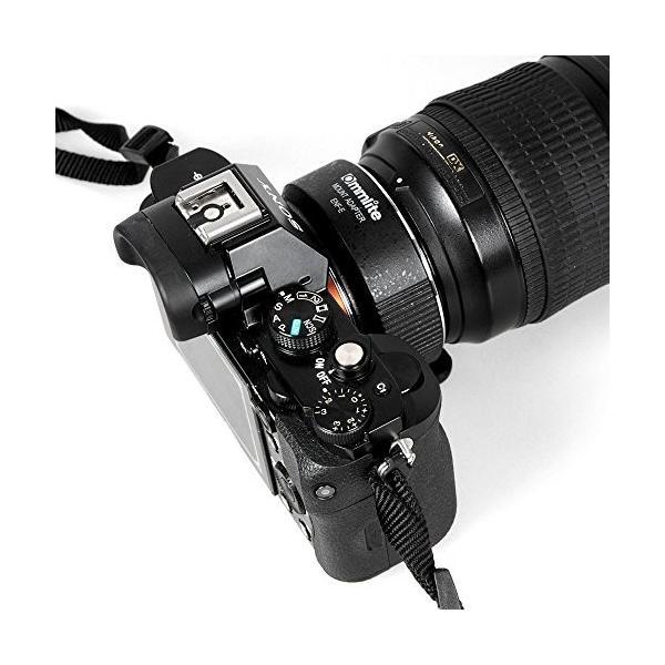 Commlite ニコン Nikon G レンズto Sony E-マウント V3 A6300 A7II A7RII オートフォーカス電子レンズアダ