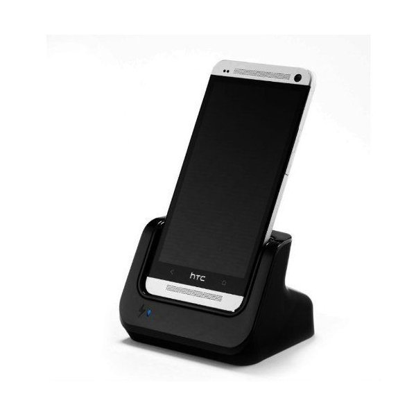 Tmvel Charging Dock Cradle for HTC One M7 801 801n 801s 801w Unlocked T-Mobile AT&T Sprint with US