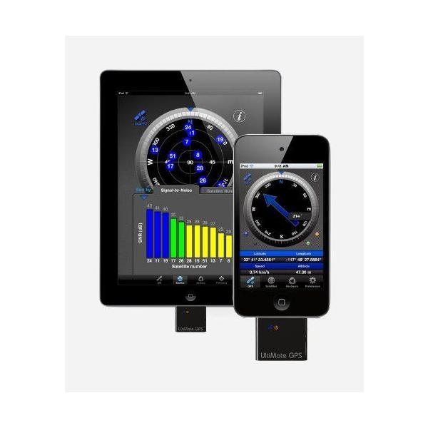 iPod touch/iPhone/iPad/デスクトップ/ノートパソコン用★GPSレシーバー Emprum社