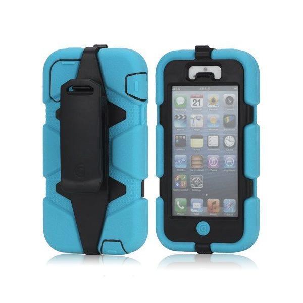 Griffin Technology iPhone5用 GRIFFIN  Survivor Case (ブラック/ブルー)