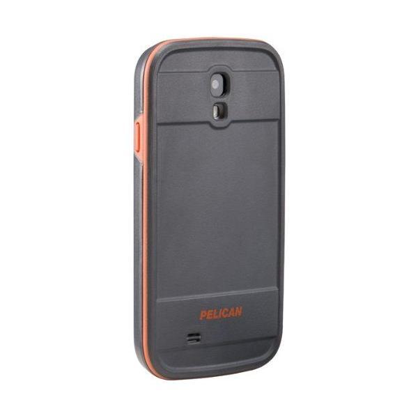 ペリカンケース / Pelican case CE1250 プロテクターシリーズ Galaxy S4 グレー / オレンジ