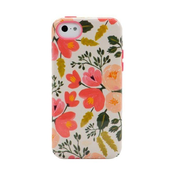 Sonix Inlay Case for iPhone 5C - Retail Packaging - Botanical Rose
