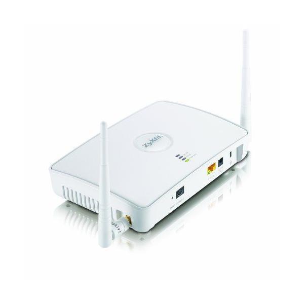 ワイヤレスアクセスポイント ZyXEL 802.11n Hybrid Wireless Access Point / WLAN Controller With PoE