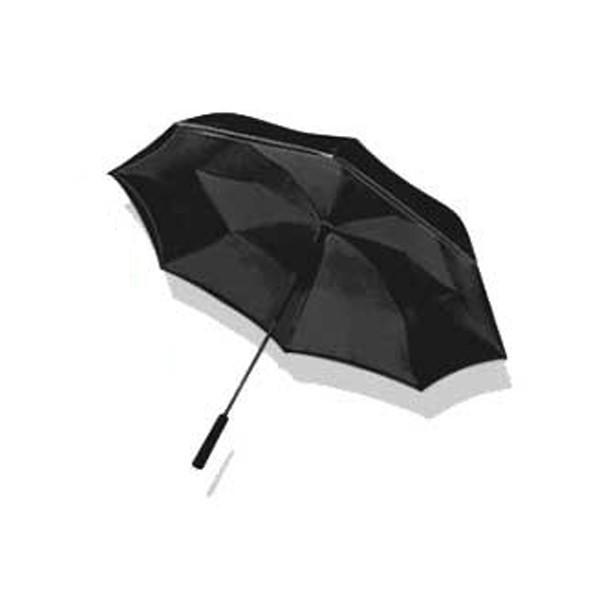 【送料無料】傘 レディース おしゃれ ワンダードライアンブレラ 逆さま傘 ワンタッチ 雨傘 濡れない傘 ブラック ブルー レッド 花柄 ローズ 男女兼用 台風|impossible-dream|08