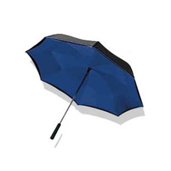 【送料無料】傘 レディース おしゃれ ワンダードライアンブレラ 逆さま傘 ワンタッチ 雨傘 濡れない傘 ブラック ブルー レッド 花柄 ローズ 男女兼用 台風|impossible-dream|09