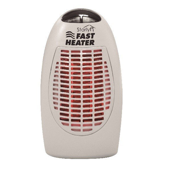 スターライフ ファスト ヒーター 3個セット 足元 オフィス 小型 タイマー付 コ ンパクト 暖房 ミニヒーター 小型ヒーター ミニ暖房機 デスク あったかグッズ
