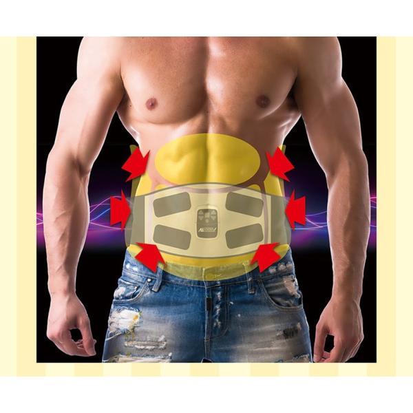 アブトロニックスマート EMS 腹筋 首 背中 腕 パッド ダイエット フィットネス 筋トレ 軽量 持ち運び 携帯電話 携帯|impossible-dream|13