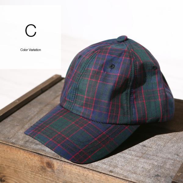 キャップ メンズ 帽子 ベースボールキャップ チェック おしゃれ ファッション|improves|11