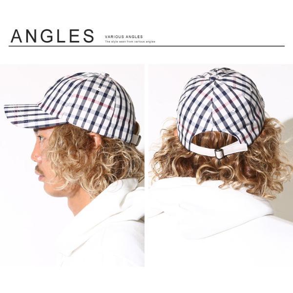 キャップ メンズ 帽子 ベースボールキャップ チェック おしゃれ ファッション|improves|12