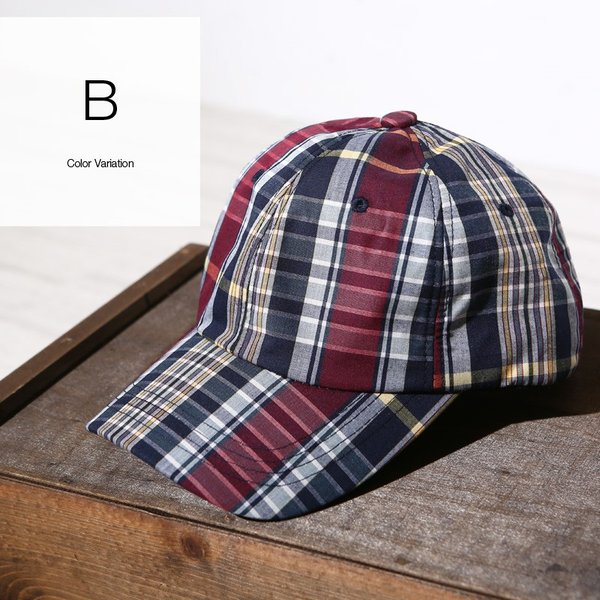 キャップ メンズ 帽子 ベースボールキャップ チェック おしゃれ ファッション|improves|10