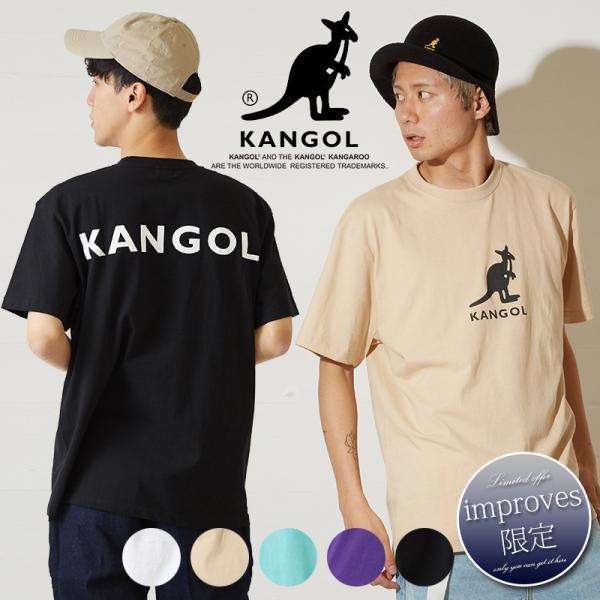 2f16da20cdc 送料無料 【improves限定コラボ別注】KANGOL × NOUNO カンゴール Tシャツ メンズ 半袖