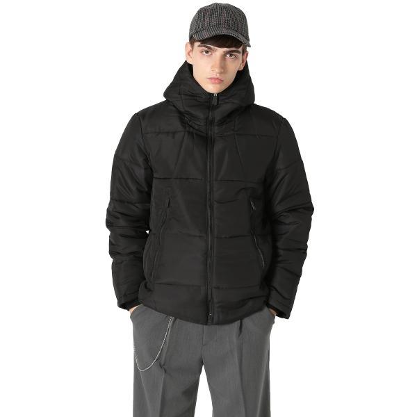 ジャケット メンズ アウター ブルゾン ジャンパー ダウンコート ダウンジャケット ライト 防寒 軽量 ミリタリー おしゃれ 夏 夏服 ファッション|improves|02