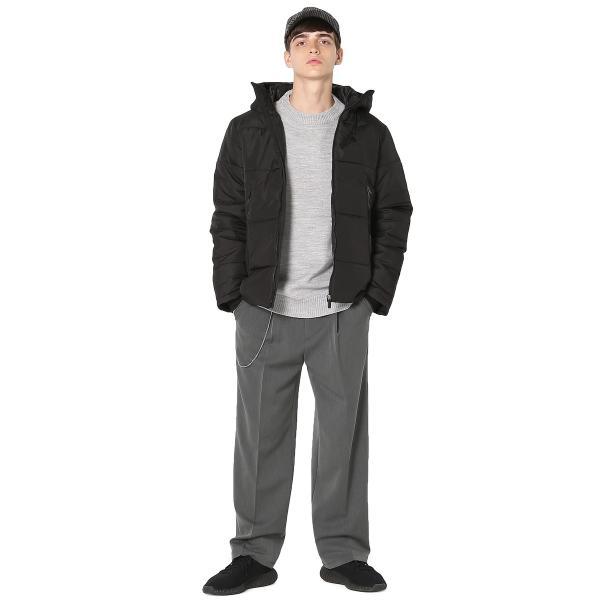 ダウンジャケット 中綿ジャケット メンズ フードジャケット ボリュームネック 軽量 防寒 ジャンパー ジャンバー メンズファッション インプローブス improves|improves|17