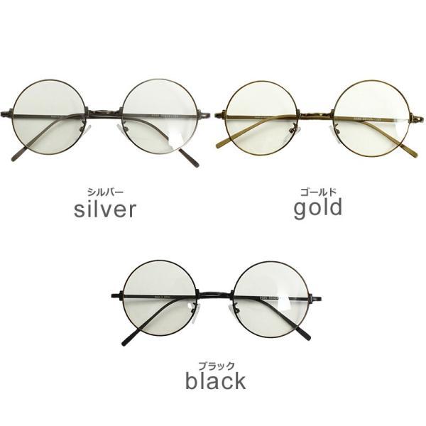 伊達メガネ 丸眼鏡 メンズ めがね ラウンド レトロ クラシック 丸型 おしゃれ ファッション|improves|02