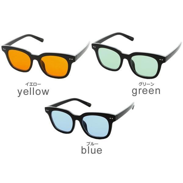 サングラス 新生活アクセ 眼鏡 グラサン ウェリントン型サングラス ライトカラー メンズ 小物 グッズ おしゃれ ファッション improves 02