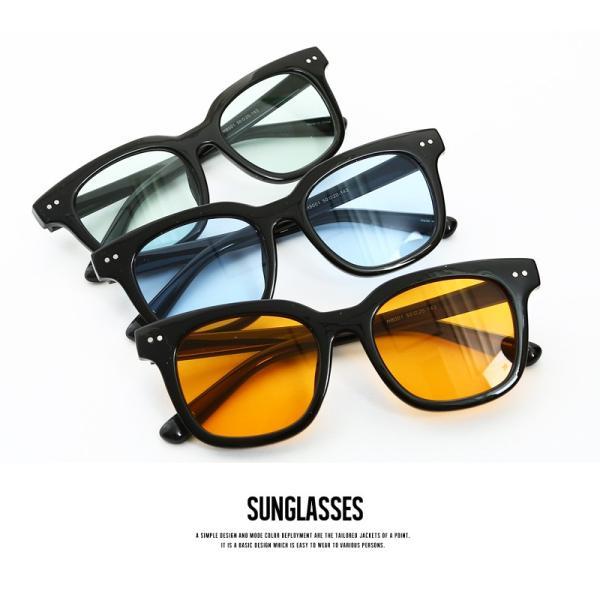 サングラス 新生活アクセ 眼鏡 グラサン ウェリントン型サングラス ライトカラー メンズ 小物 グッズ おしゃれ ファッション improves 04