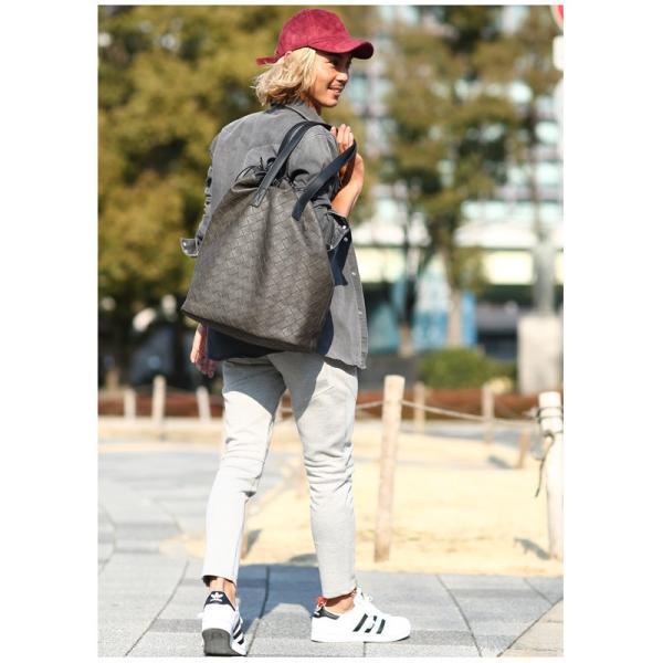 トートバッグ メンズ クラッチバッグ カバン 鞄 バッグインバッグ フェイク レザー 大きめ おしゃれ プレゼント おしゃれ ファッション|improves|10