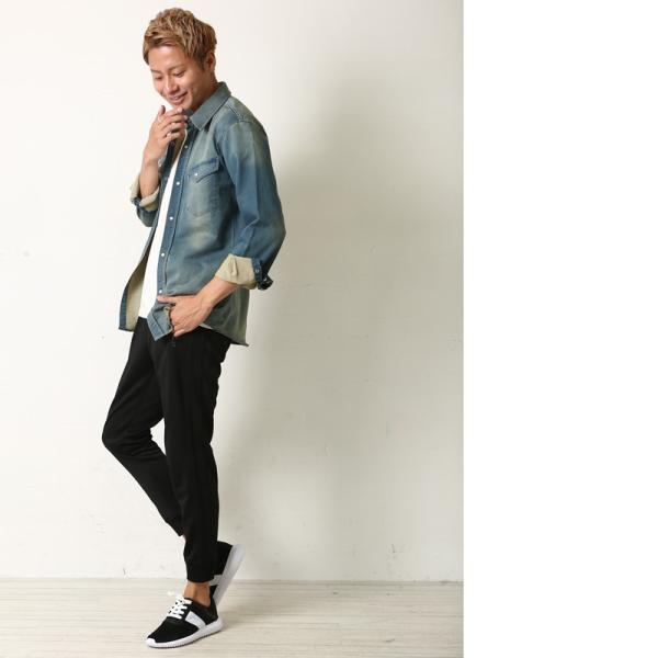 スニーカー メンズ ワークブーツ ランニングシューズ ウォーキング ライン カジュアル  紳士靴 シューズ 靴 おしゃれ ファッション|improves|06