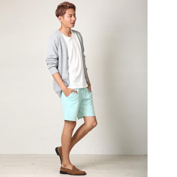 ショートパンツ メンズ スウェット スエット ボトムス カットオフプリント セットアップ カジュアル おしゃれ ファッション|improves|11