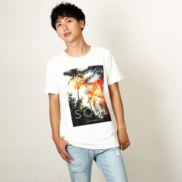 プリントTシャツ デザインTシャツ 半袖 クルーネック サーフ メンズ improves インプローブス|improves|05