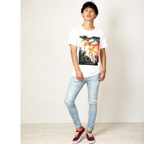 プリントTシャツ デザインTシャツ 半袖 クルーネック サーフ メンズ improves インプローブス|improves|06