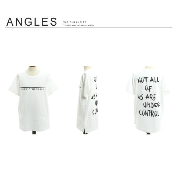 Tシャツ メンズ BIG ビッグシルエット プリント 半袖 トップス クルーネック スリット おしゃれ ファッション|improves|08