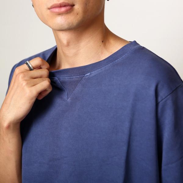 トレーナー メンズ スウェット スエット トップス  半袖 セットアップ カジュアル おしゃれ ファッション|improves|08
