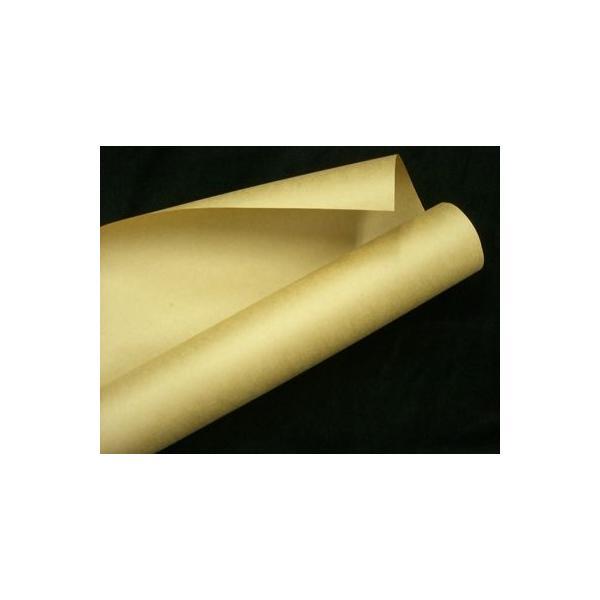 クラフト紙茶紙900mm×30M 「1本」75g両更クラフト 包装紙