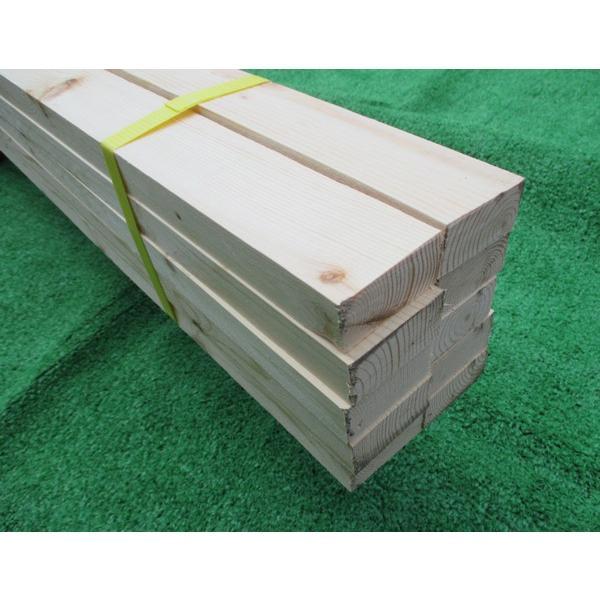 【全国配送不可】赤松桟木(さんぎ)節あり 人工乾燥材 3950×24×48ミリ