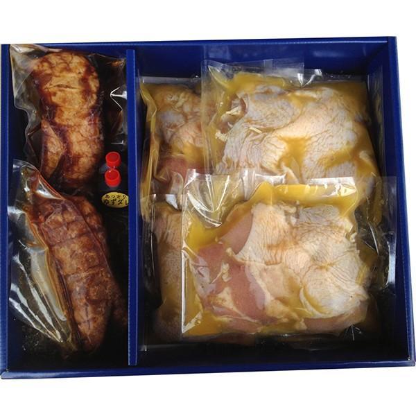 お中元 御中元 2021 送料無料 焼き豚P 焼豚・骨付き鶏若鶏セット お肉 ギフト 詰め合わせ