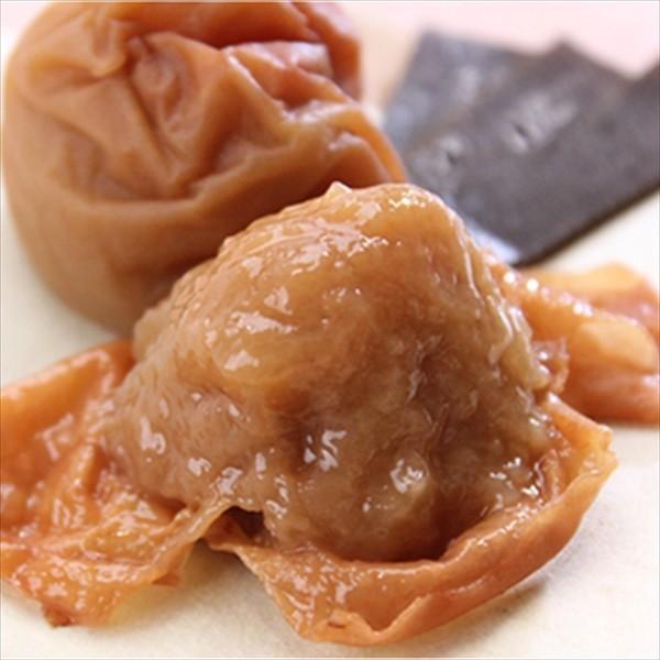 送料無料 梅干し お試し 4種 セット ポイント消化 紀州 南高梅 はちみつ味 こんぶ風味 うす味 しそ味|inaminosato|03