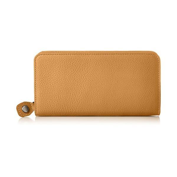 キタムラ 財布YH0082キャメル/オレンジステッチ 茶色 61421