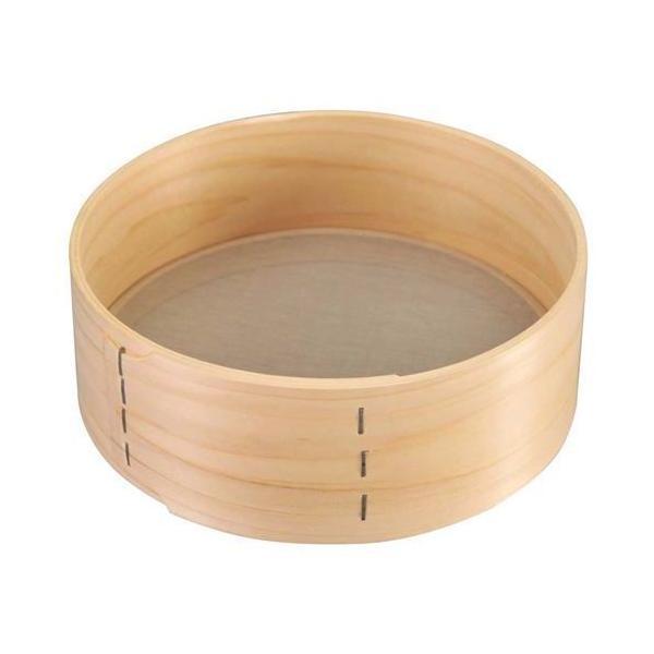 木枠 ステン張 そば粉フルイ 8寸/業務用/新品