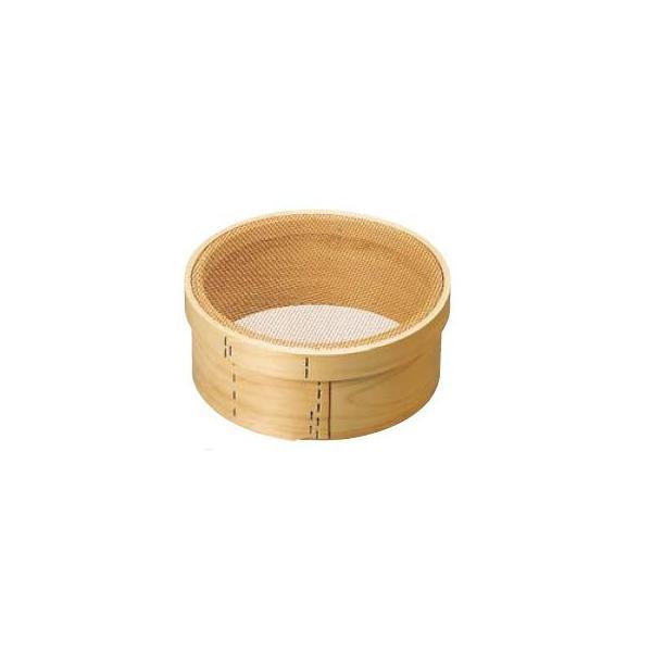 パン粉フルイ (木枠) 尺1(33cm) 銅張 6.5メッシュ/業務用/新品