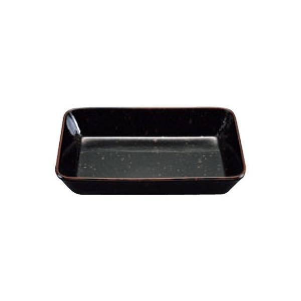 黒天目 ラザニアディッシュ 幅320×奥行235×高さ55(mm)/業務用/新品