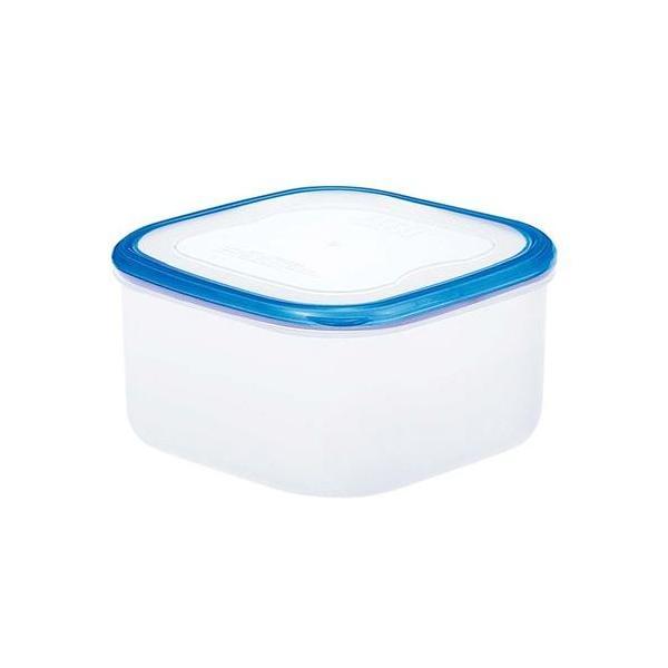 パッセハード シール容器 WS-4 クリアブルー 幅150×奥行150×高さ80(mm)/業務用/新品