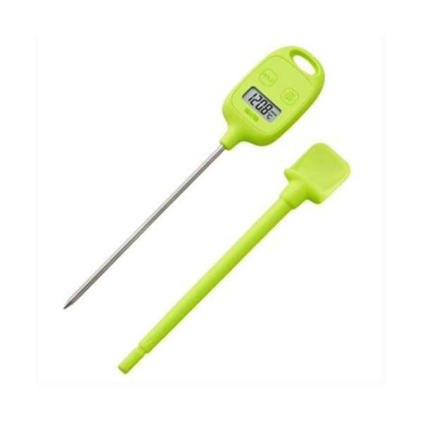中心温度計 デジタル温度計【グリーン】 TT-583-GR タニタ/業務用/新品