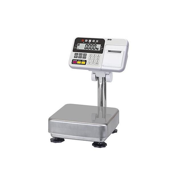 A&D 防塵・防水台はかり HV-15KCP(内蔵プリンター付き)/業務用/新品