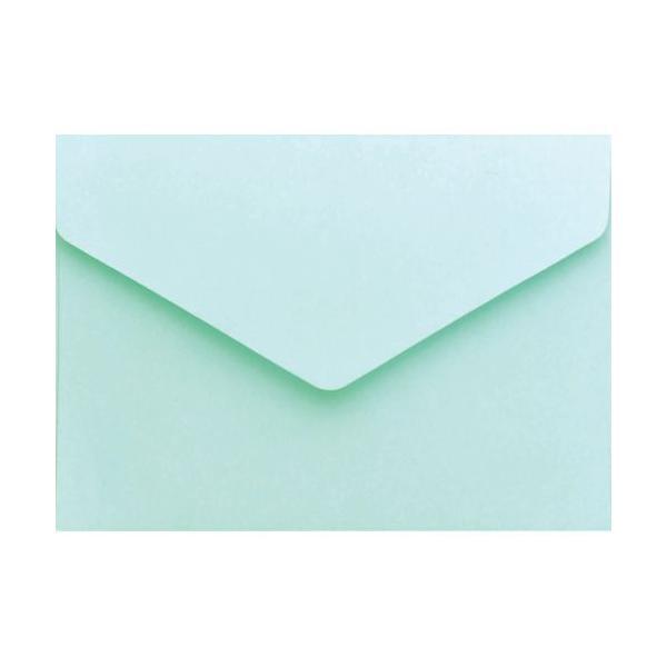 メッセージカード袋 ブルー/20枚×5冊入/業務用/新品