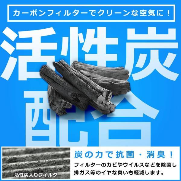 送料無料! ホンダ JF1・JF2 N-BOX H23.12-H29.8 車用 エアコンフィルター 活性炭入 014535-1020|inex-2|03