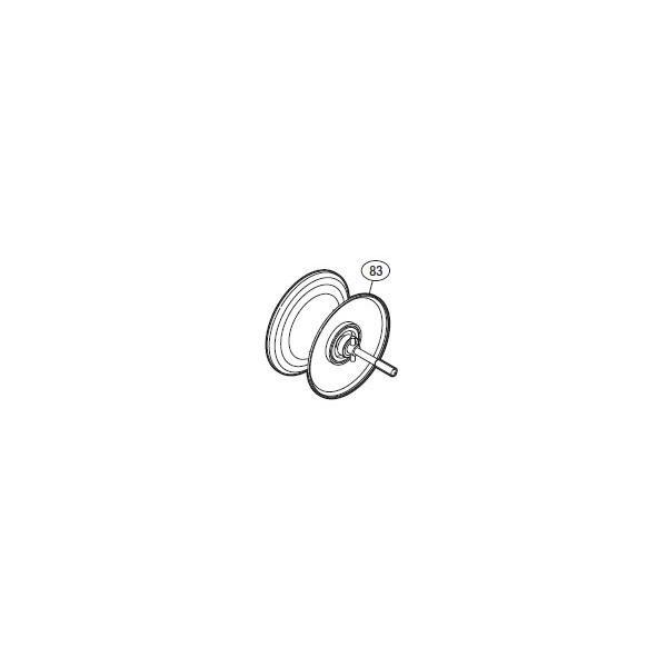 ●シマノ 11オシアジガー2000NR-HG(02762)用 純正標準スプール (パーツ品番105) 【キャンセル及び返品不可商品】 【まとめ送料割】