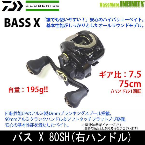 ダイワ 2019NEW BASS X バスエックス 80SH (右ハンドル)